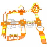 Affordable price customized PVC inflatable water play park