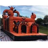 PVC cheap eco friendly inflatables obstacle course