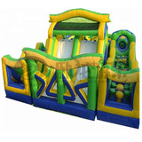 Hot selling kids inflatable outdoor obstacle course
