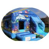 commercial PVC inflatable castle home