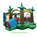 Factory supply inflatable castle kids