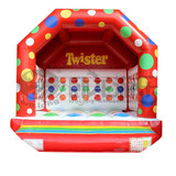 0.55 mm PVC commercial inflatable jumper bouncer