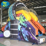good Quality slide inflatable bouncer