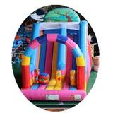 custom pvc kids jumping castle inflatable