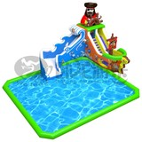 PVC material inflatable swimming pool slide for sale