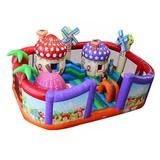 Fun park equipment outdoor kids air castle