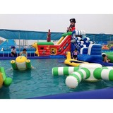 High quality inflatable rocket water slide