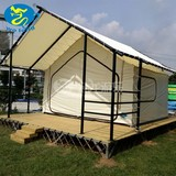 winter Commercial glamping tent