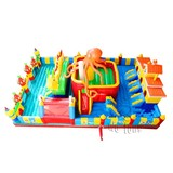 Factory Supply bouncer castle inflatable