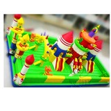 Factory Supply Commercial balloon slide bouncer