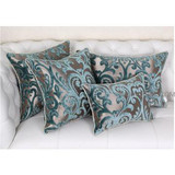 Home Decorative Cushions Jacquard Velvet