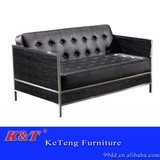 latest modern design italy leather office sofa