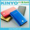 CE power pack metal shell KINYO brand new power bank 8000mAh