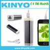 China supplier lipstick battery case power supply /18650 battery charger/ RoHs power bank