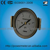 40mm high quality freon pressure gauge with clamp