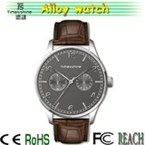 new style selling men watches gift set,zinc alloy fancy watches for me