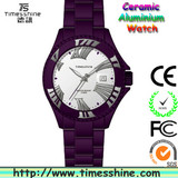 2013 new arrival ceramic aluminium watch promotional items for girls
