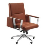 Modern 91602 High Back Leather office chair