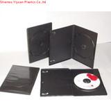 9mm single black dvd case