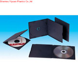 5.2mm single black pp cd case
