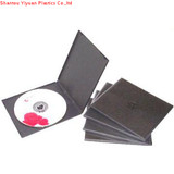 7.5mm single black pp cd case