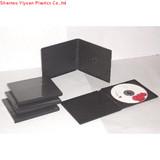 10.4mm single black pp cd case
