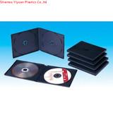 10.4mm double black pp cd case