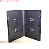 14mm 4disc black dvd case