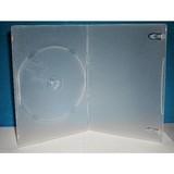 5mm single/double clear dvd case
