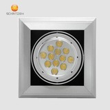 1*9W LED Grid Lamp for indoor lighting with 2 years warranty