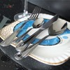 OS018 stocked stainless steel flatware set