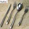 bulk flatware in stainless steel