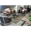 Fabric Leather Sofa Classic Furniture Home Furniture Living Room Wood