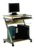 YD-1017 Wooden Computer Desk with Wheel