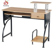 Brief Steel Wooden Design Computer Furniture