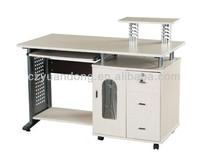 Long Multifunctional Wooden Computer Desk