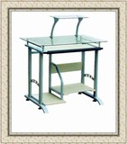 YD-B3 Tempered Glass Top Computer Desk