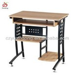 Simple Steel Wooden Computer Table Furniture