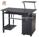 Strong thermal stability wooden office computer table