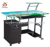 Modern Moveable Computer Table Office Furniture