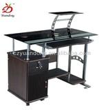 YD-030 craft glass office computer desk