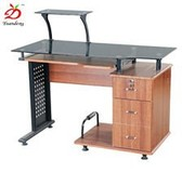 Fashion Generous Wooden Central Office Computer Table Furniture