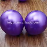 deep purple balloon rabbit latex balloon