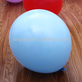 10inch 2.3g light blue balloons toys kids gift tube balloons chinese wedding decorations