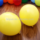 "12""3.2g yellow balloons wedding balloon arch dalmatian inflatable halloween deocration"