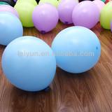 """12""""3.2g light blue oversized christmas rocket balloons bubbles for kids"""
