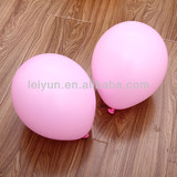 10inch 2.3g pink balloons hot pink helium balloons candy invitations