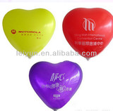Thick 2.0 grams heart-shaped balloon advertising