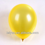 china manufacturer wedding decoration 12 inch 3.2 grams In yellow balloons