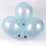 polka dot balloons latex care bears party for boy 12-inch round pearl 3.2 g Light blue